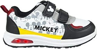 CERDÁ LIFE'S LITTLE MOMENTS Cerdá-Zapatilla con Luz Mickey Mouse de Color Blanco, Niños