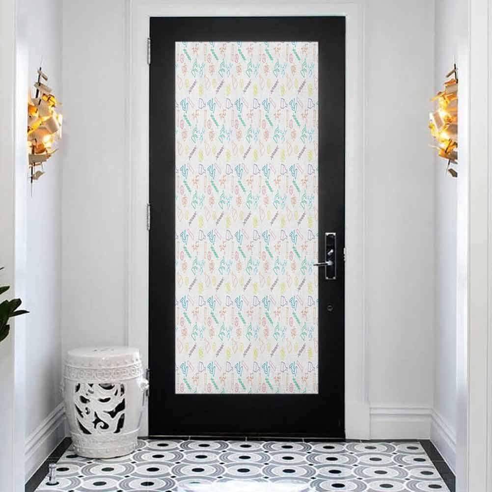 Self Adhesive Ranking TOP8 Decorative Waterproof Chemis Door Science Max 80% OFF Sticker