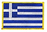 Flaggen Aufnäher Griechenland Fahne Patch + gratis