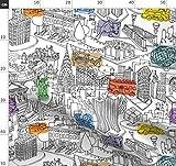 Stadt, Städtisch, New York City, Abstrakt, Geometrisch