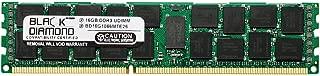 16GB Memory RAM for SuperMicro AS Server AS-1042G-TF 240pin PC3-8500 1066MHz DDR3 ECC Registered RDIMM Black Diamond Memory Module Upgrade