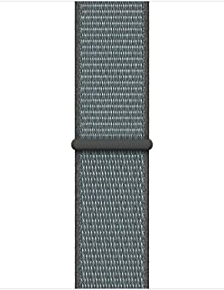 Mifan Official Nylon Loop Band for Apple Watch 44mm/42mm Series 1/2/3/4 Replacement Strap Mesh Soft Breathable Woven Sports Wristband Bracelet Storm Grey