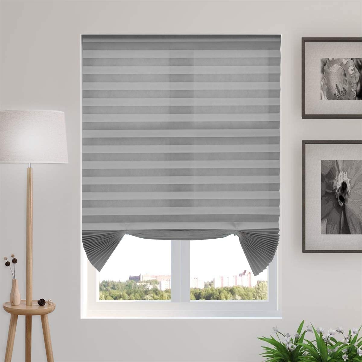 Temporary Blinds Cordless Pleated Windows 出色 and for Shades 超激安特価