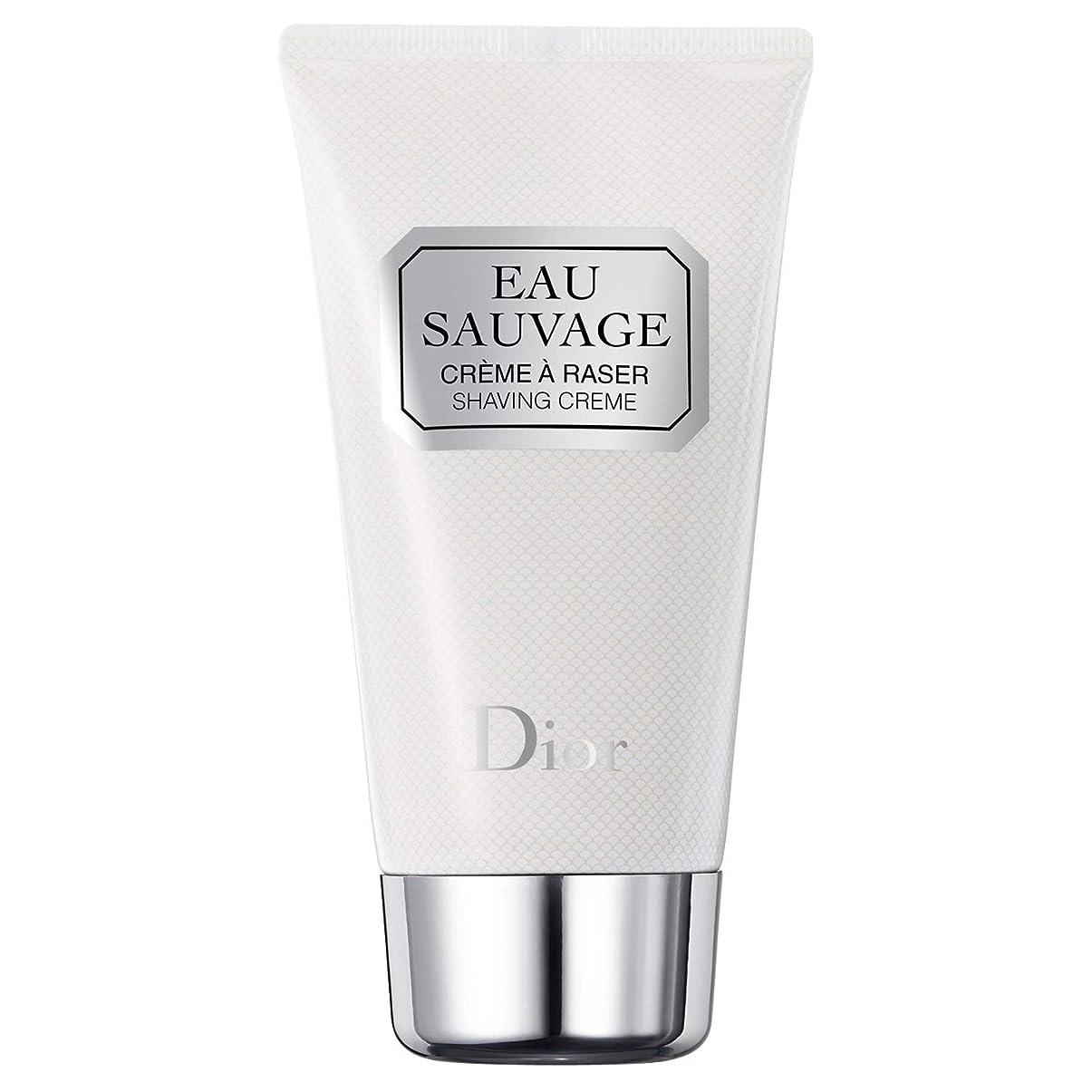 ダンプまとめる童謡[Dior] ディオールオーソバージュシェービングクリーム125ミリリットル - Dior Eau Sauvage Shaving Cream 125ml [並行輸入品]