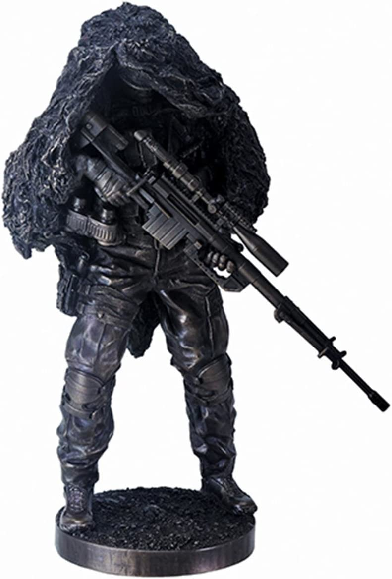 YTC 12.5 Inch Concealed at Soldier Max 48% OFF Display Ready Max 77% OFF Sniper Figurine