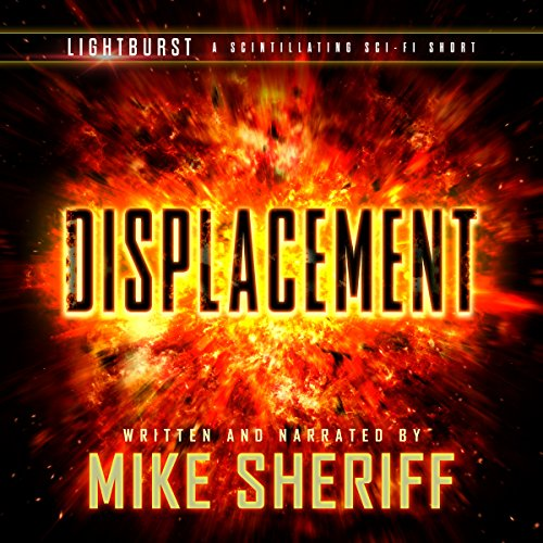 Lightburst: Displacement audiobook cover art