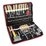 80 teilig Schnitzwerkzeuge Ausstecher Ausstechformen Carving Werkzeug Set Schnitzmesser Handwerkzeug...