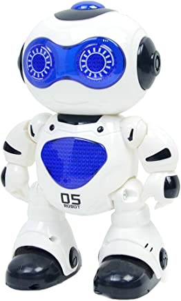 MagiDeal Remote Control Robot Electronic Walking Dacning Robot Kids Educational Toy