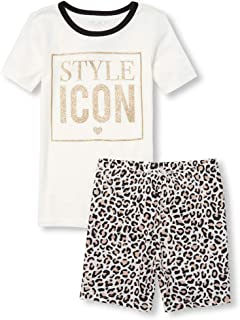 The Childrens Place Big Girls Novelty Printed Shorts ...