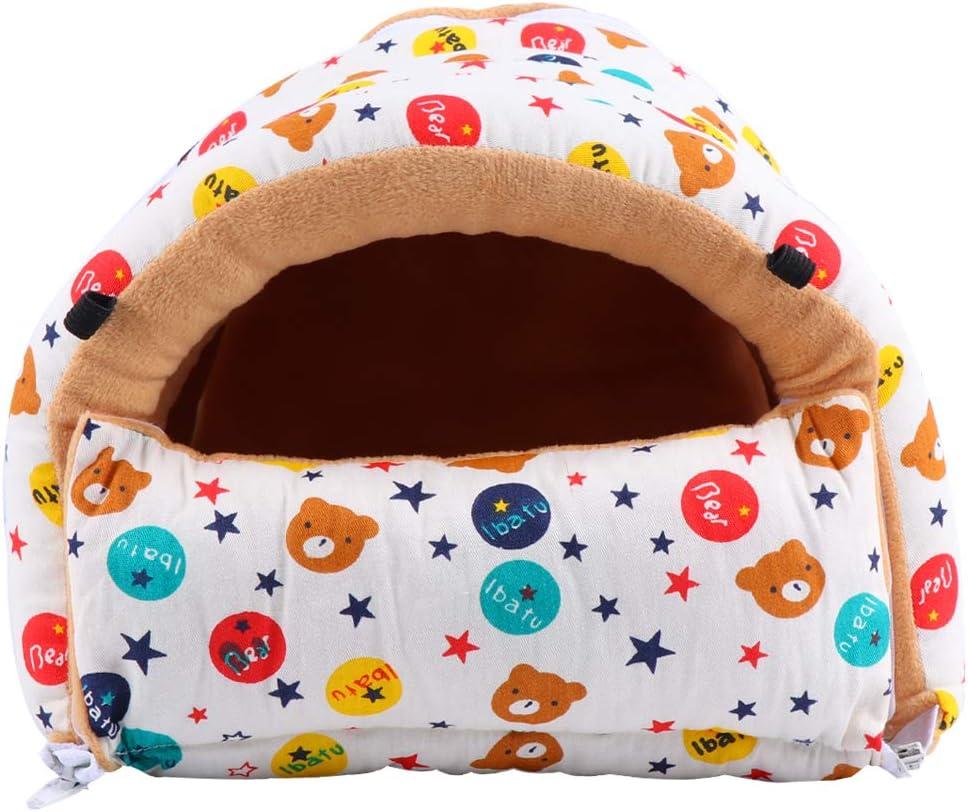 Year-end annual account TEHAUX Warm Pet Nest Gorgeous Star Cage Bear Winter Sleep Pattern