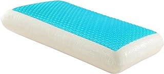 WWSUNNY Almohada ortopédica terapéutica con contornos de Espuma de Memoria,Gel de Refrigeración,Diseñada Médicamente para la Prevención y el Alivio del Dolor de Cuello y Espalda (70 * 40 * 13cm)
