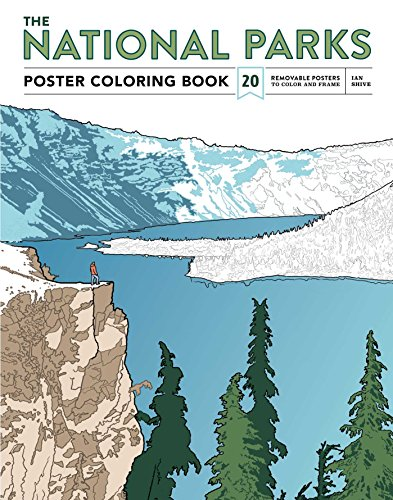 The Essential National Parks Coloring Book: Posters and Landscapes from America's Favorite National Parks [Idioma Inglés]