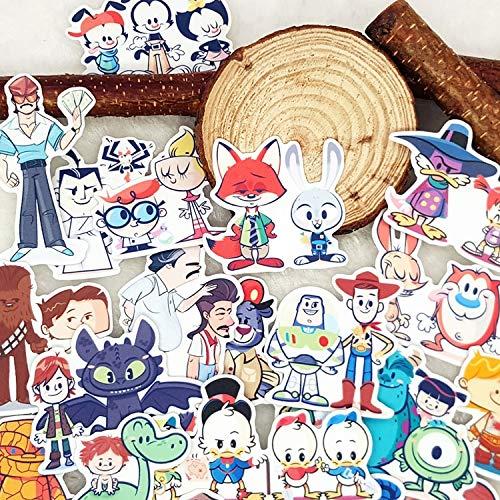 Film en Televisie Rollen Album Scrapbook Waterdichte Decoratie Stickers Diy Handgemaakte Gift Scrapbooking Sticker 32 stks/zak