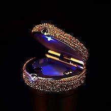 JT Cendrier De Voiture De Diamant des Cendriers Universels Lumineux De Lumière LED Multifonction