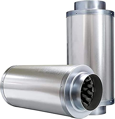 high quality VIVOSUN lowest 8 popular Inch Noise Reducer Silencer for Inline Duct Fan online sale