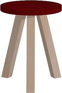 パモウナ スツール 幅35×高さ35×奥行45 日本製 CNANST40TCRLBE