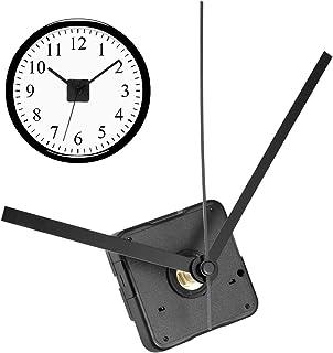 SUPVOX Movimiento silencioso del Reloj Mecanismo de Reloj de Pared DIY práctico Mano de Reloj Recta Negra de 3.3/4.5/5.5 Pulgadas para reemplazo de Reloj DIY