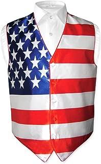american flag tuxedo vest