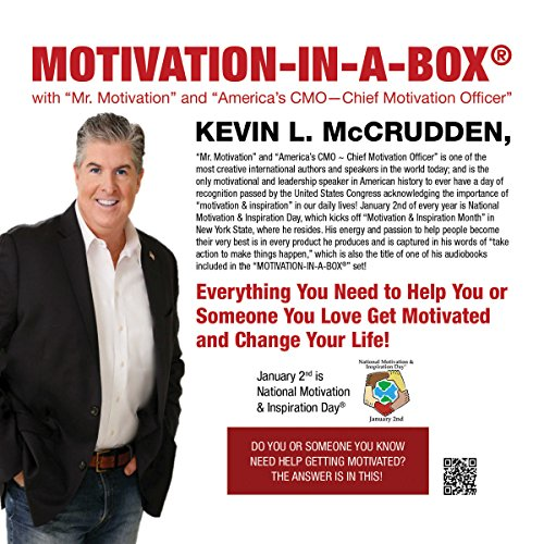 Motivation-in-a-Box® audiobook cover art