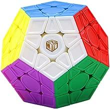 Cuberspeed QiYi Galaxy V2 M Magnetic Sculpture Stickerless X-Man Galaxy Megaminx V2 M Sculpted Megaminx Speed Cube