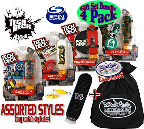 top 10 teck deck set TECH DECK 96mm fingerboard gift set, party gift set with bonus limited matty toys …