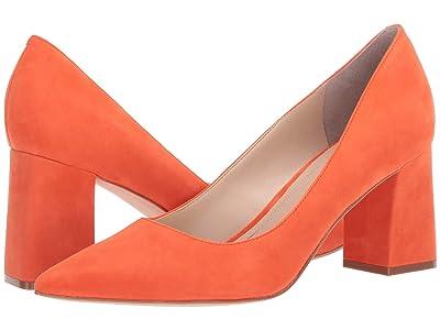 Marc Fisher LTD Zala Pump (Orange Suede) Women