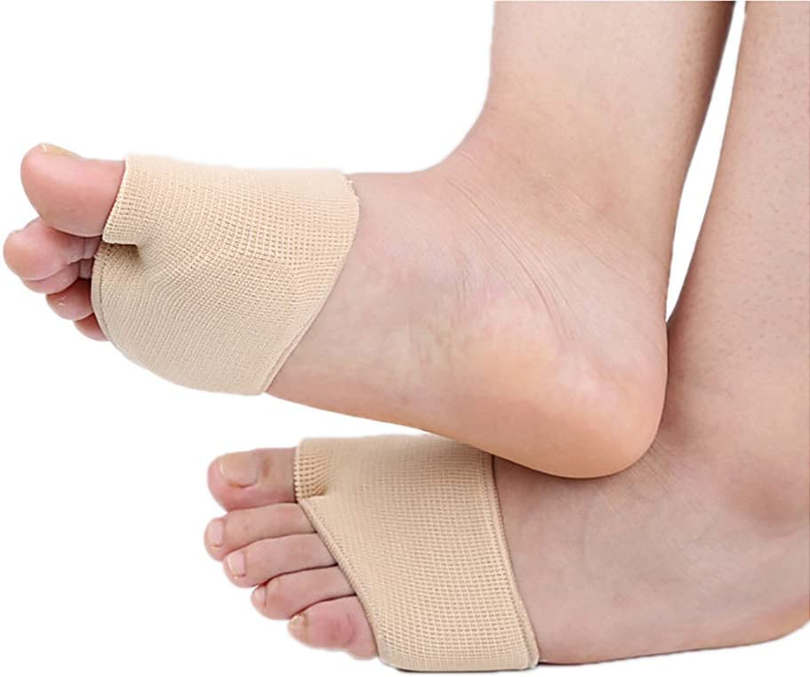 Max 89% OFF Dr.Pedi Fabric Metatarsal Sleeve Pads Cushion Bombing new work Pad Forefoot with