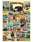 1000 Pieces Large Jigsaw Puzzles for Adults, 30×20 Inch Colorful Puzzles for Children and Teens Ages 12 and up, Difficult Puzzle Art for Men and Women ( National Parks )