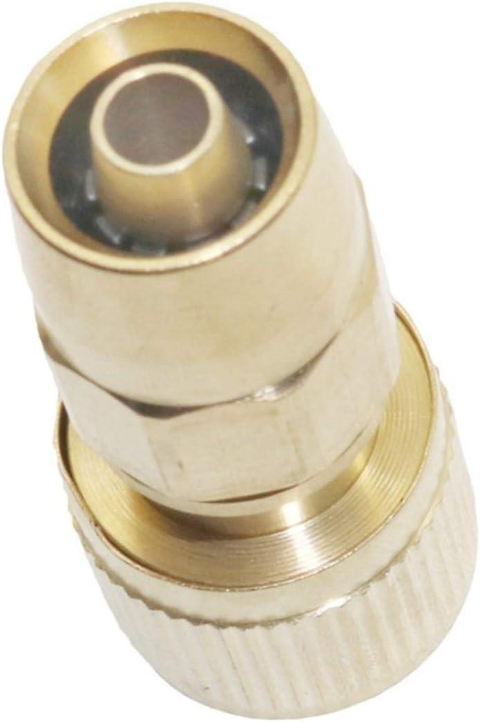 WYanHua-Accesorios Tubería Latón PC 1 manguera de cobre conector rápido, lavado de coches pistola de agua de 17 mm a 9 mm Herrajes, adaptador de la manguera de jardín, , Accesorios de hardware de cali