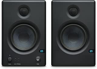 "PreSonus Eris E.45 HD 2-Way 4.5"" Nearfield Monitors, 70Hz-20kHz Frequency Response, 10kOhm Input Impedance, 2x Balanced 1/4"" TRS, 2x Unbalanced RCA, Pair"