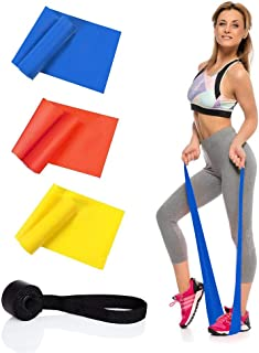 Eco-friendly TPE pull sheet fitness resistance band stretch band yoga stretch band TPE pull band set with door buckle