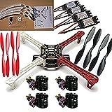 powerday F450 ATF Quadcopter Frame Kit &Sunnysky X2212 980KV Motor sin escobillas & SimonK 30A ESC & 1045 Hélice