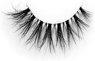 Invisible Transparent Band 3D Mink Fur Fake Eyelashes Women's Makeup False Lashes Hand-made Mink Lash 1 Pair Pack(TD06)