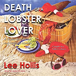 Death of a Lobster Lover audiobook cover art