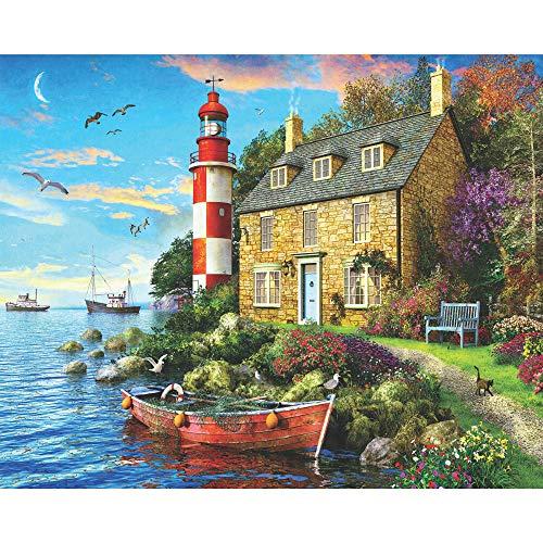1000 piece puzzles lighthouse - 3