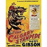 Movie Film Calgary Stampede Sport Western Rodeo Hoot Gibson