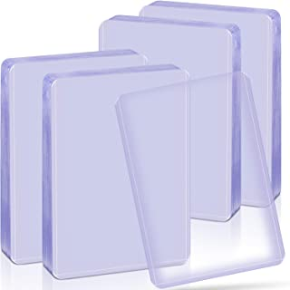 40 Count Top Loaders Thick Plastic Card Sleeves for Trading Card, Baseball Card Sleeves Hard Plastic Toploaders, Card Prot...