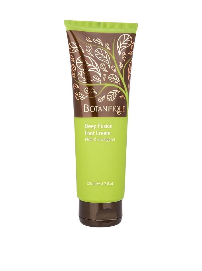 彫刻家慣れている略奪Botanifique Deep Fusion Foot Cream - Mint & Eucalyptus 125ml/4.2oz並行輸入品