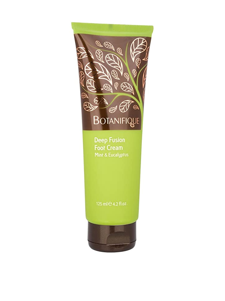 市区町村寛大な失速Botanifique Deep Fusion Foot Cream - Mint & Eucalyptus 125ml/4.2oz並行輸入品