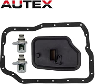 AUTEX 4F27E FN4AEL Transmission Shift Solenoid A/&B Filter Kit Replacement For Ford C-Max 2013 2014//Ford Focus 2000-2012 //Ford Transit Connect 2010-2013//Mazda 2 3 5 6 2006 2007 2008 2009 2010