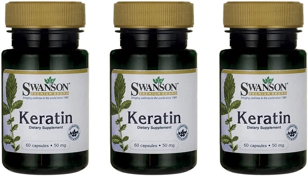 Swanson Import Keratin Joint Hair Skin 50 Milligram Fresno Mall Supplement Nail