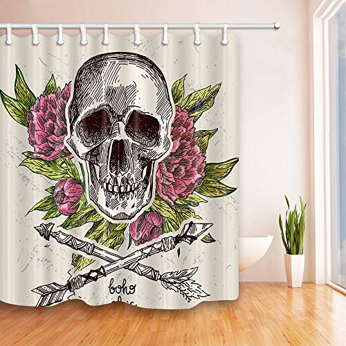 Funny Frog On The Lotus Leaf Dew Country style Shower Curtain