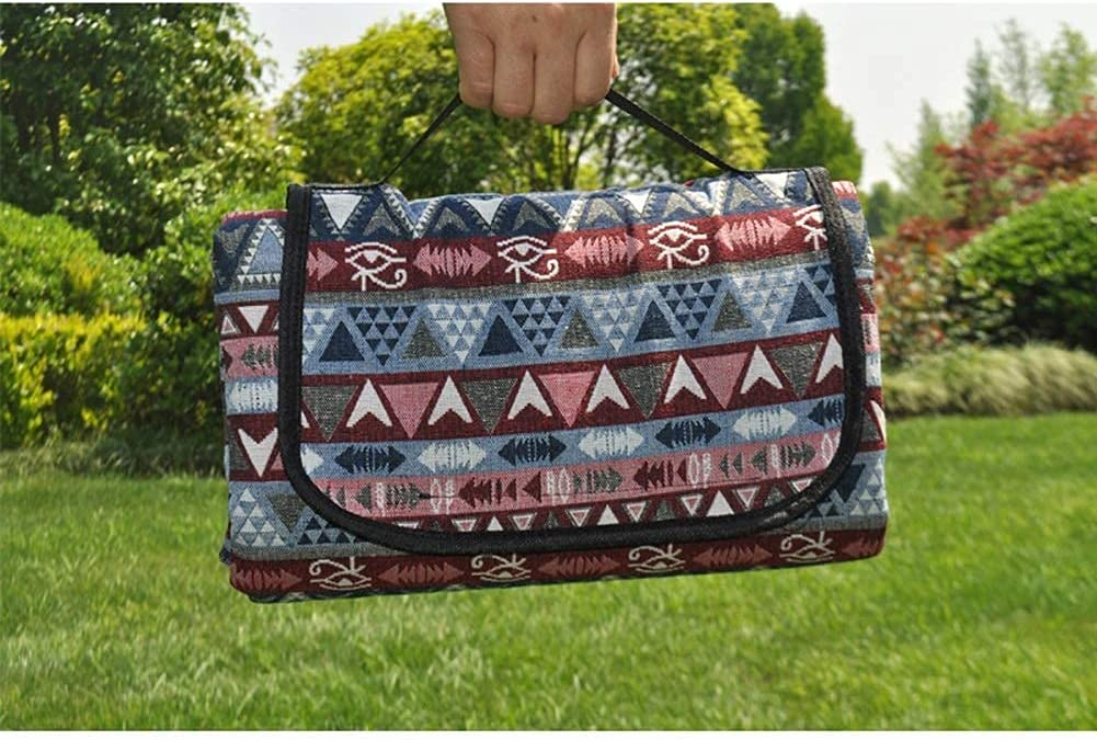 Sysyrqcer Picnic Blankets Waterproof Large Direct sale of manufacturer Folding Atlanta Mall Extra