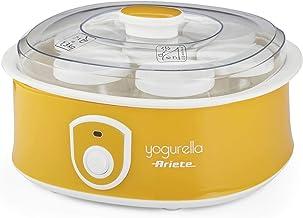 Ariete 617 - Yogurtera de 1.3 litros, 7 tarros de cristal
