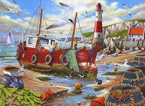 Big 250 Piece Jigsaw Puzzle - High & Dry by The House of Puzzles