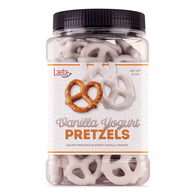 Yogurt Covered New mail order Pretzels Max 73% OFF Salted Vanilla in Sweet