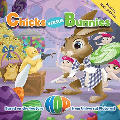 Hop: Chicks Versus Bunnies audiobook cover art