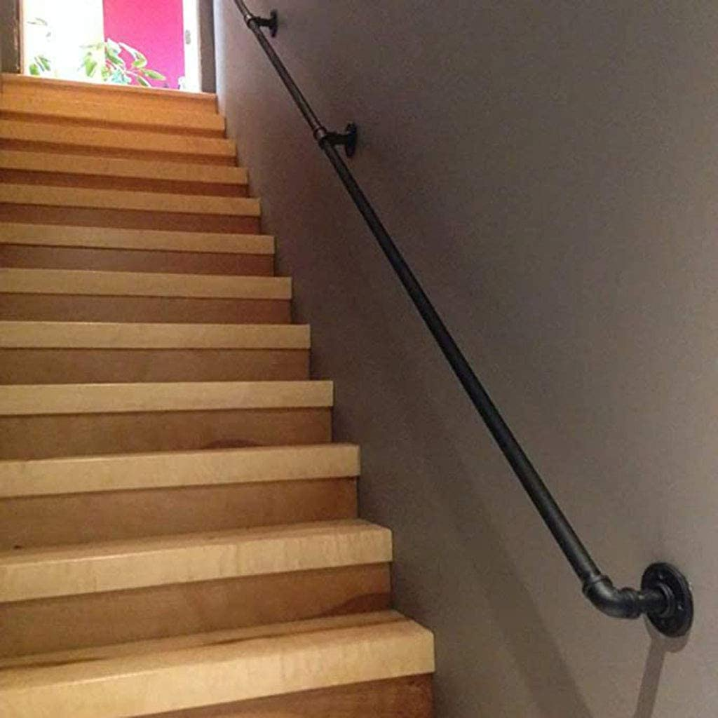 zxcvb Iron Stair Railing Phoenix Mall Indoor Latest item Hand Rails Elderly for