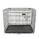 Pet's Solution Gabbia per Cani trasportino Box Cani Pieghevole M 77x53x60h cm.