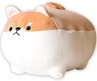 ANJUU Dog Plush Pillow, Soft Cute Corgi Butt Stuffed Animals Corgi Dog Doll Toy Gifts for Bed, Valentine, Christmas, Kids ...
